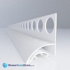 Trimlux Pro 25 Trim Profile for Showers and Baths