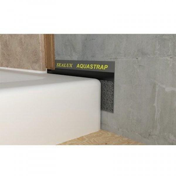 AquaStrap stuck to Shower Tray sidewall
