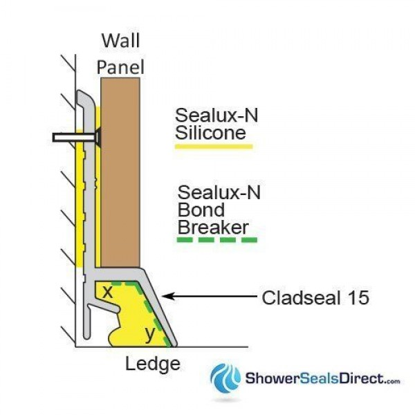 Cladseal 15 Cross Sectional View