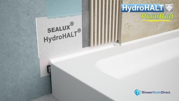 HydroHALT PlumBud Tanking Installation