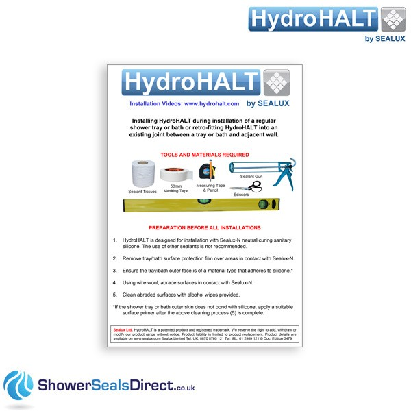 ihydrohalt instructions
