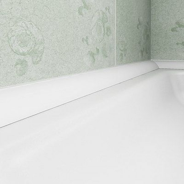 Trimlux Pro 25 Trim Fitted Behind Tile