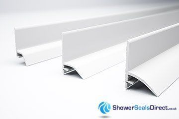 sealux shower trims are available in 3 width sizes