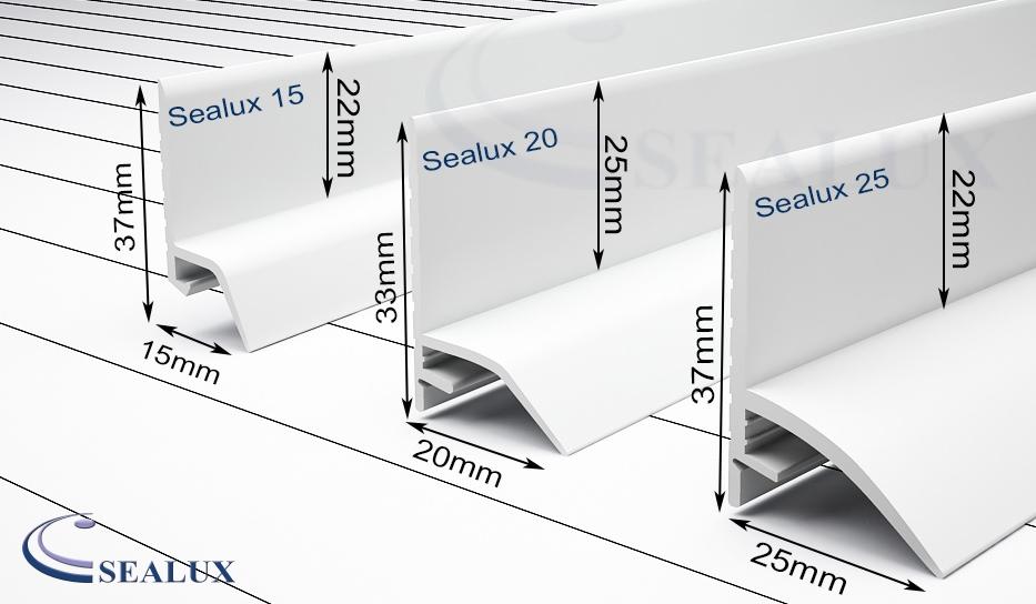 dimensions of sealux seals