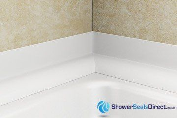 Shower Seal Amp Bath Seals How To Fit Sealux Shower Trim